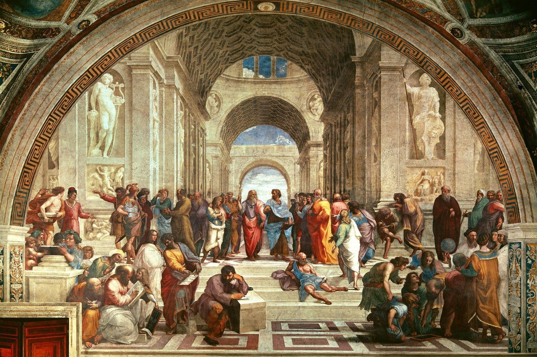 Painting - School of Athens