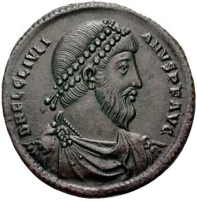 Emperor Julian coin portait